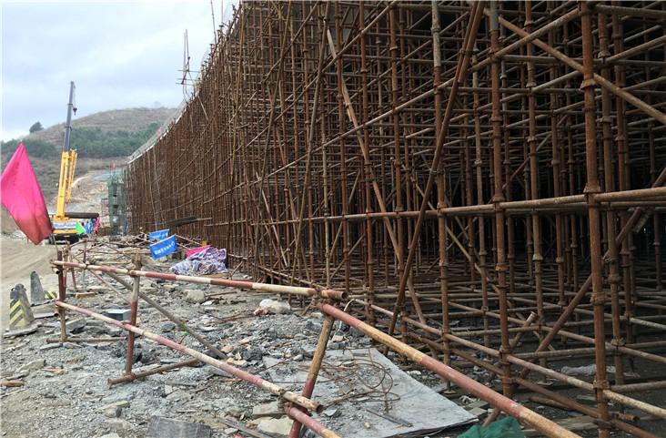 北京市政一公司贵龙纵线1桥